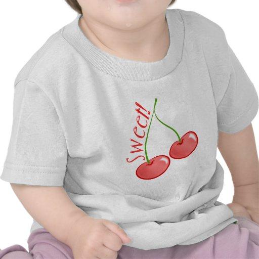 Cerezas dulces camiseta