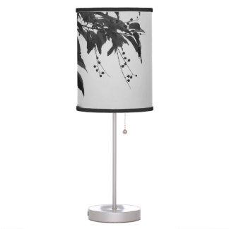 Cerezas salvajes lámpara de escritorio