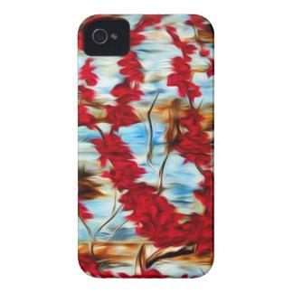 Cerezo abstracto Case-Mate iPhone 4 cárcasa