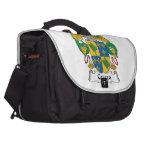 Cerezo Family Crest Laptop Bags