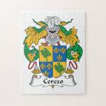 Cerezo Family Crest Puzzle