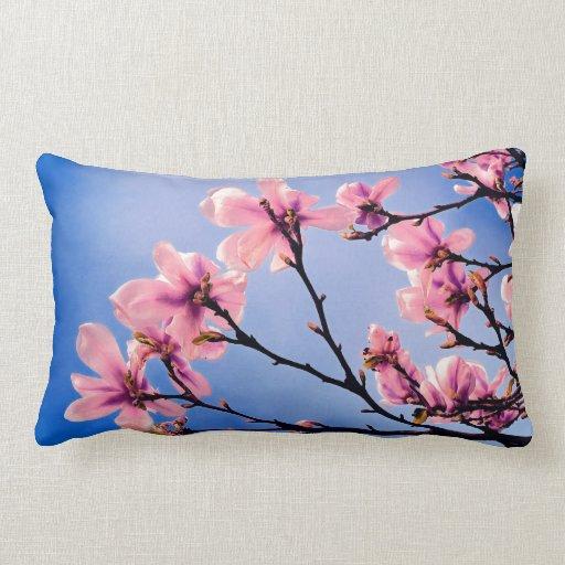 Cerezo florecido almohadas