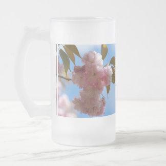 Cerezo floreciente rosado tazas