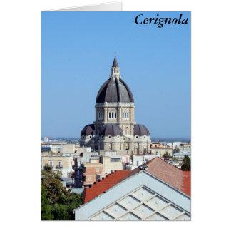 Cerignola, Italia Tarjeta De Felicitación