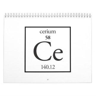 Cerio Calendarios De Pared