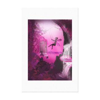 Cerise Fairy Canvas Print