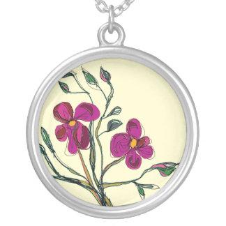 Cerise Flowers > Necklace