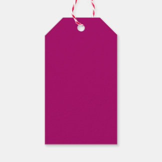 Cerise Pack Of Gift Tags