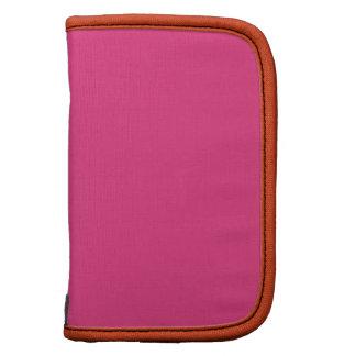 Cerise Pink Mandarin Premium Full Color Folio Planners