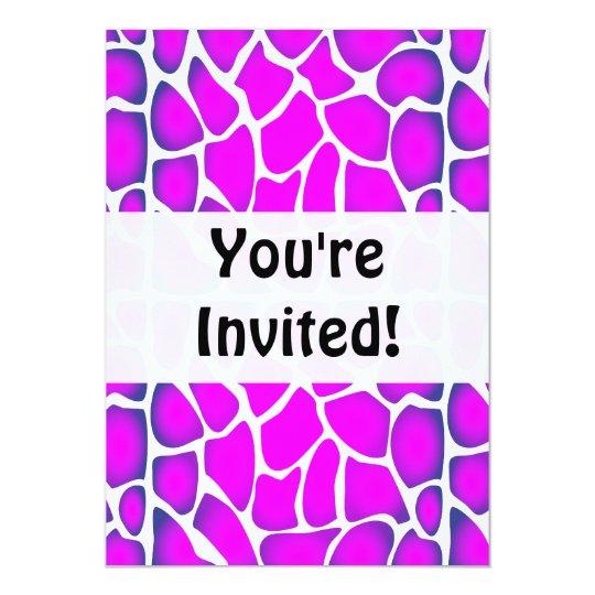 Cerise Pink Pattern Card