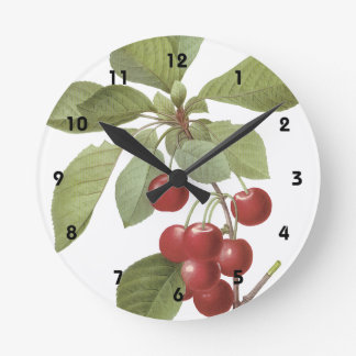 Cerisier Royal Round Clock
