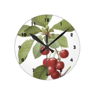Cerisier Royal Round Clock