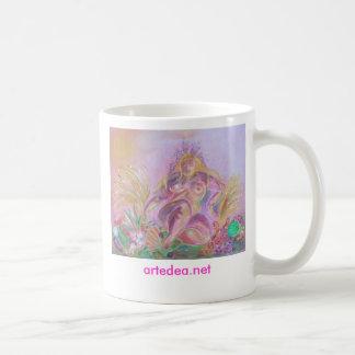 Cerium - cup classic white coffee mug