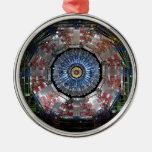 CERN Shiva LHC Adorno Navideño Redondo De Metal
