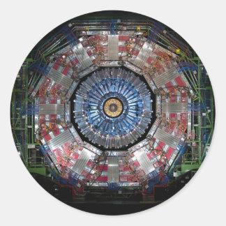 CERN Shiva LHC Classic Round Sticker