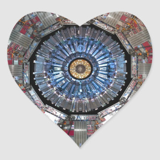 CERN Shiva LHC Heart Sticker