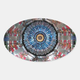 CERN Shiva LHC Oval Sticker