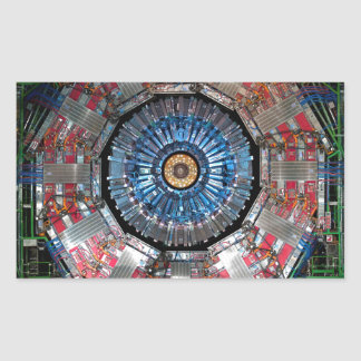 CERN Shiva LHC Rectangular Sticker