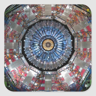 CERN Shiva LHC Square Sticker