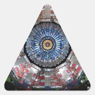 CERN Shiva LHC Triangle Sticker