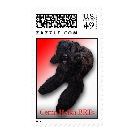 Cerna Holka BRTs on a Stamp! Postage