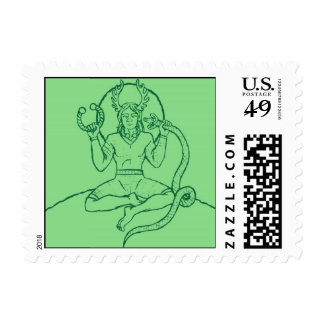 Cernunnos Stamp