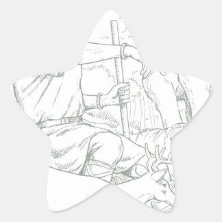 Cernunnos Star Sticker