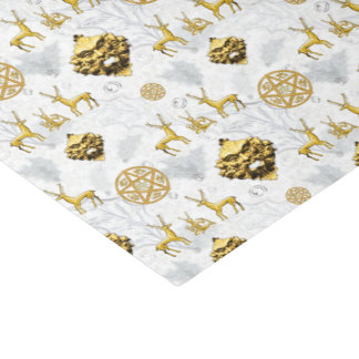 Cernunnos y hombre verde con el acebo - papel seda papel de seda pequeño