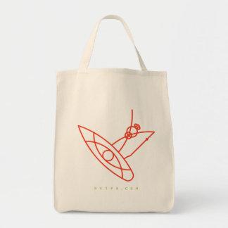 Cero bolsas plásticas. SUP. Tote Bag