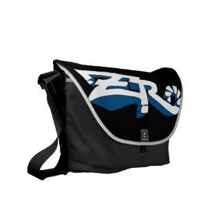 Cero Ebony (Blue) Messenger Bag