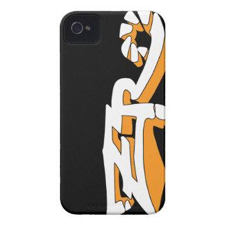Cero Ebony (Orange) iPhone Case