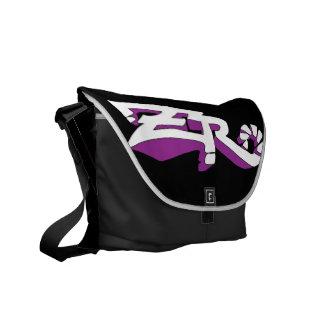 Cero Ebony (Purple) Messenger Bag