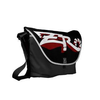 Cero Ebony (Red) Messenger Bag
