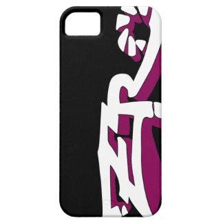Cero Ebony (Red-Violet) iPhone Case