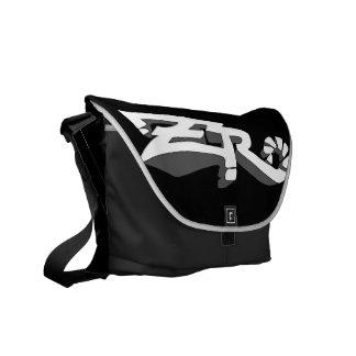 Cero Ebony (Smoke) Messenger Bag