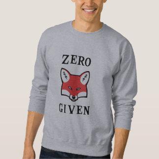 Cero (Fox) dado Sudadera Con Capucha