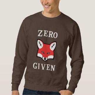 Cero (Fox) dado Sudaderas Encapuchadas