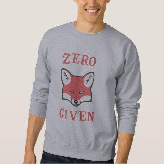 Cero (Fox) dado Suéter