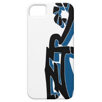 Cero Ivory (Blue) iPhone Case