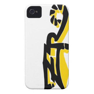 Cero Ivory (Gold) iPhone Case