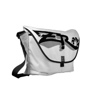 Cero Ivory (Grey) Messenger Bag