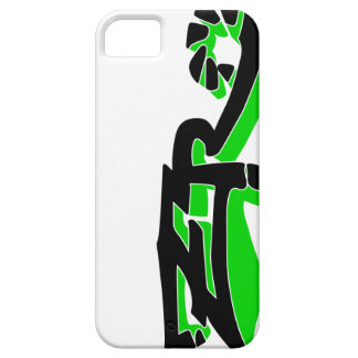 Cero Ivory (Lime) iPhone Case