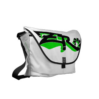 Cero Ivory (Lime) Messenger Bag