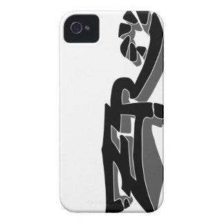 Cero Ivory (Smoke) iPhone Case