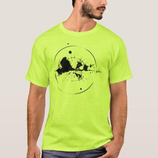 cero una camisetas del adulto del sonar
