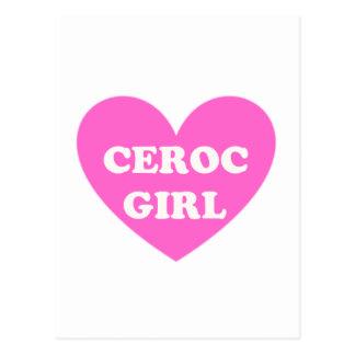 Ceroc Girl Postcard