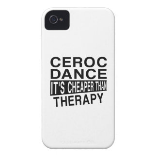 CEROC IT IS CHEAPER THAN THERAPY iPhone 4 CASE