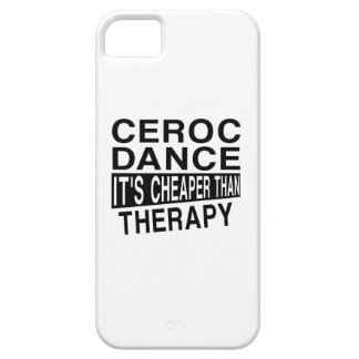 CEROC IT IS CHEAPER THAN THERAPY iPhone SE/5/5s CASE