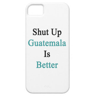 Cerrada Guatemala es mejor iPhone 5 Case-Mate Protector