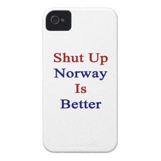 Cerrada Noruega es mejor iPhone 4 Case-Mate Carcasas